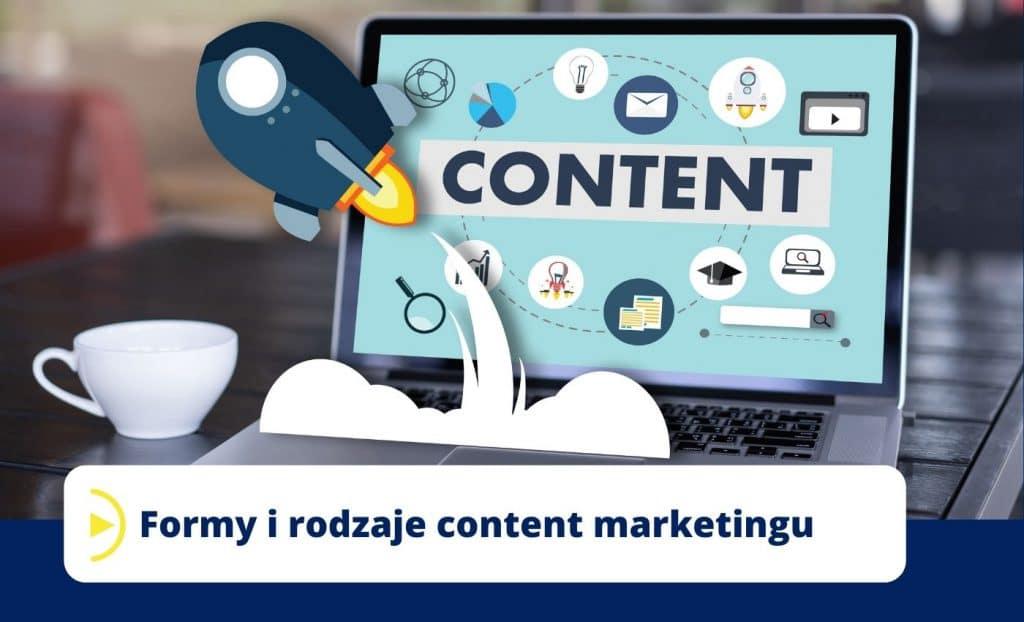Formy i rodzaje content marketingu
